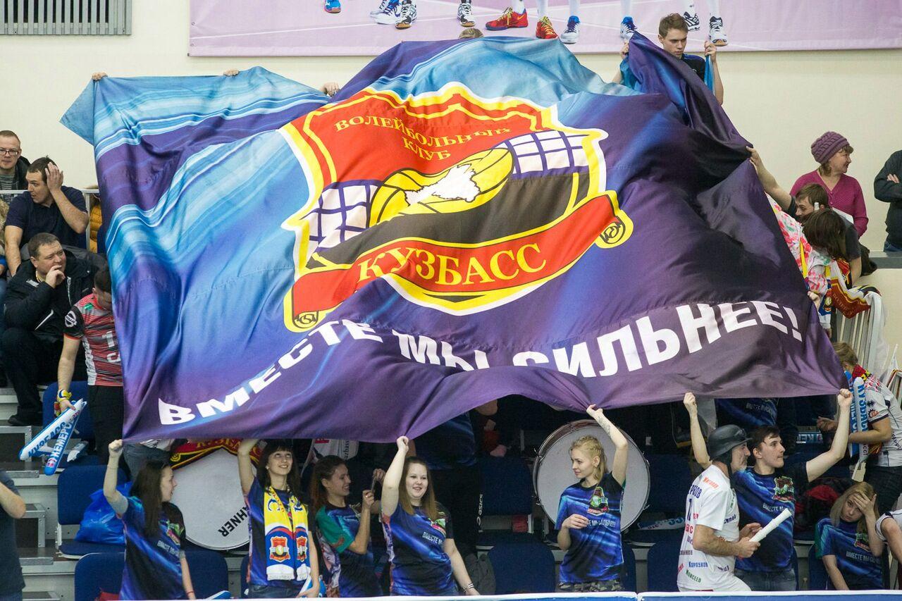 Волейбольный «Кузбасс» переиграл «Нову» в заключительном домашнем матче постоянного чемпионата