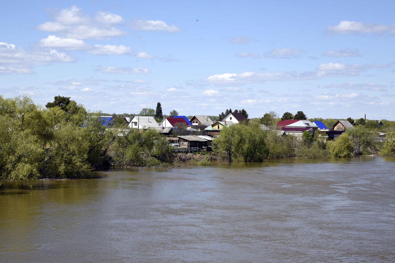 ВТюменской области из-за паводка введен режимЧС