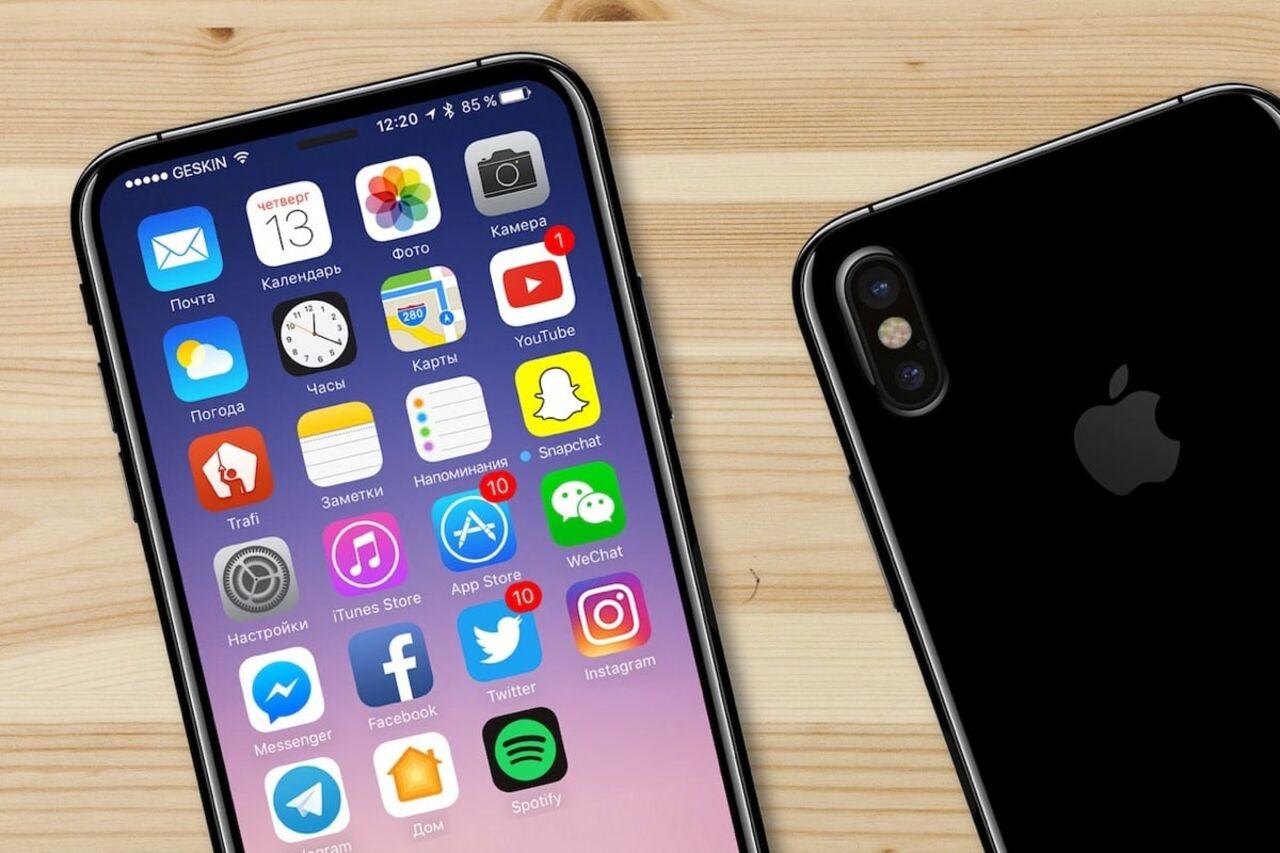 Вглобальной web-сети появились изображения обеих панелей iPhone 8