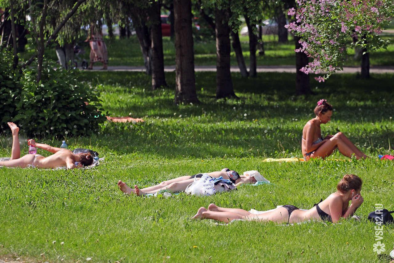 ВКузбассе сначала недели ожидается 36-градусная жара сгрозами