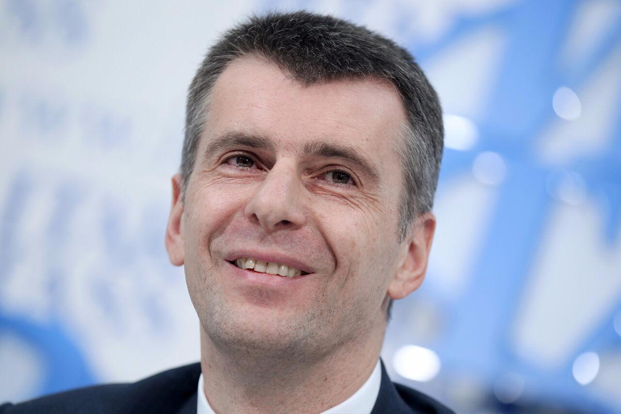 Прохоров получил 1 руб. зароль в кинофильме