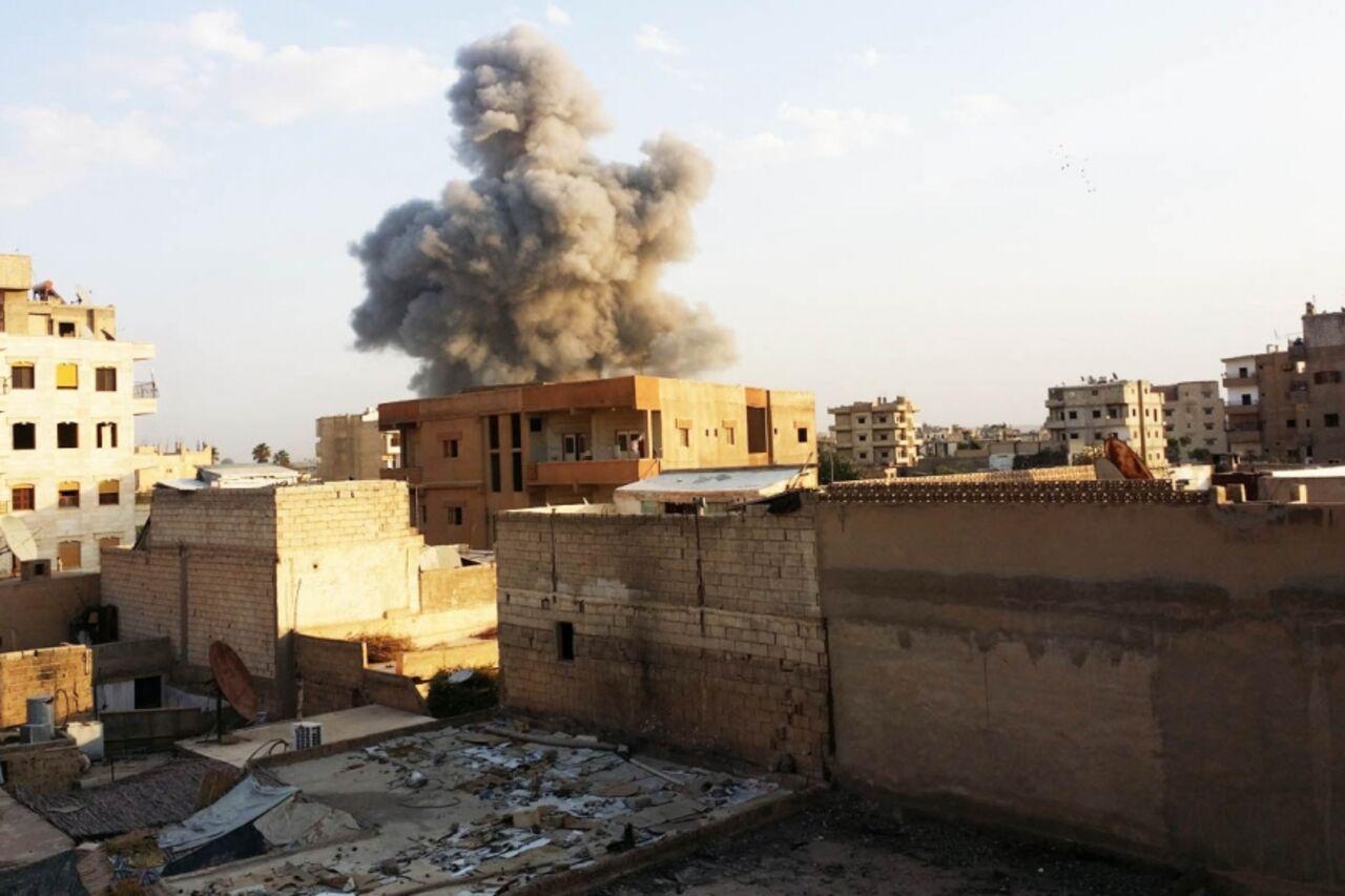 Жертвами удара сил коалиции США посирийской Ракке стали семь детей