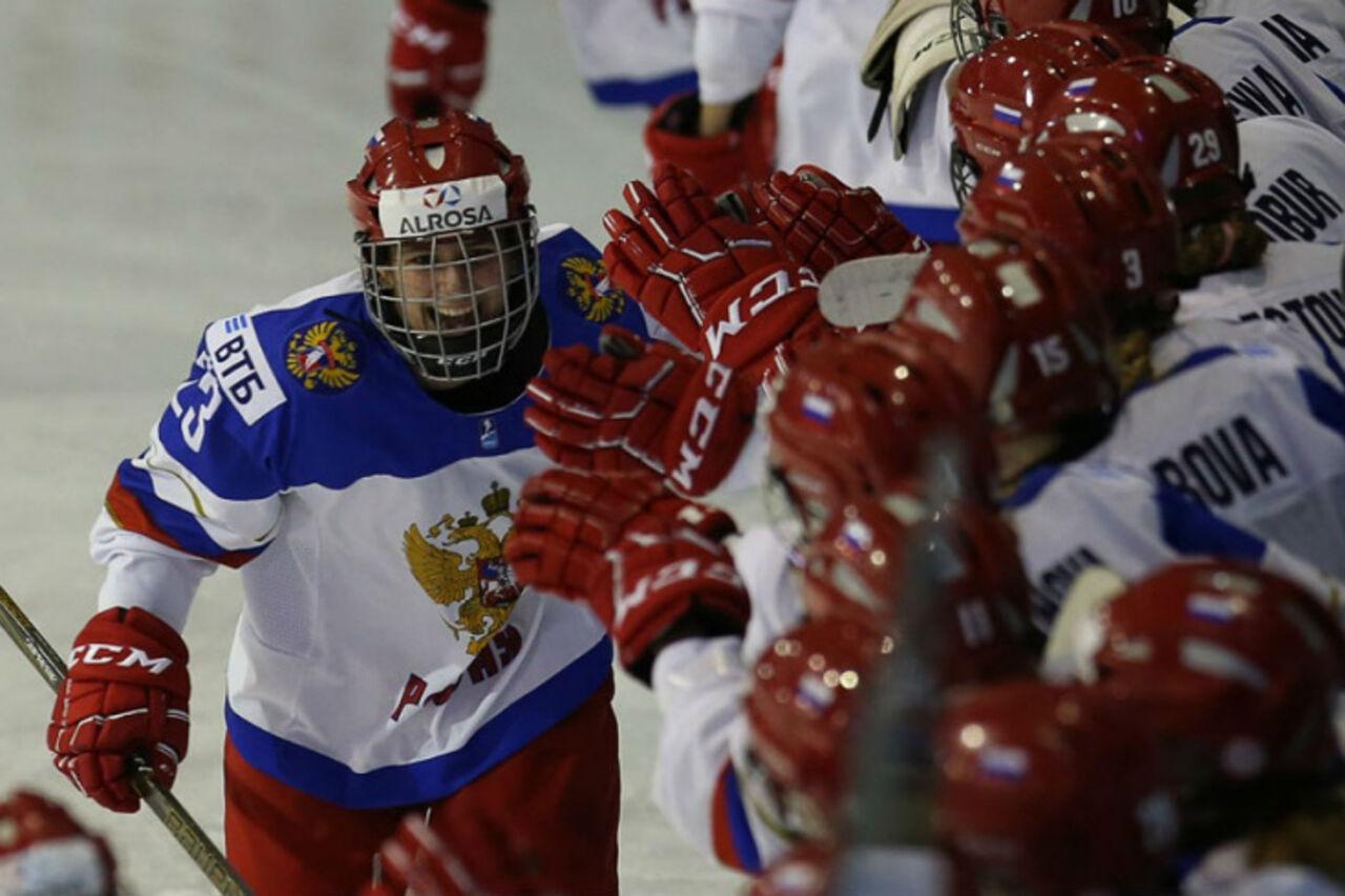 Женская сборная РФ  вышла вполуфинал МЧМ
