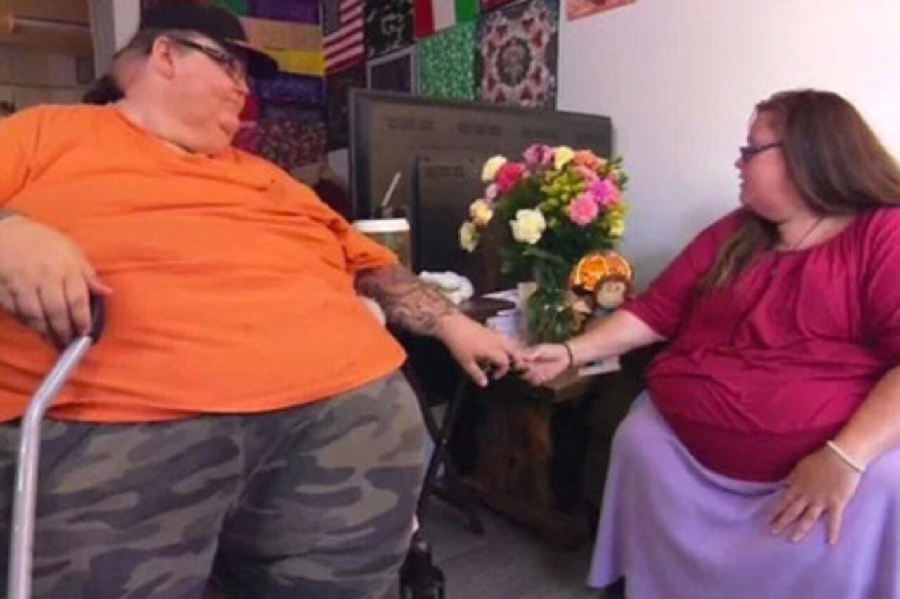 ВСША влюблённая пара ради первого секса худела 11 лет