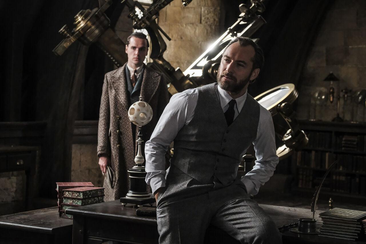 Кинорежиссер «Фантастических тварей» рассказал обориентации Дамблдора