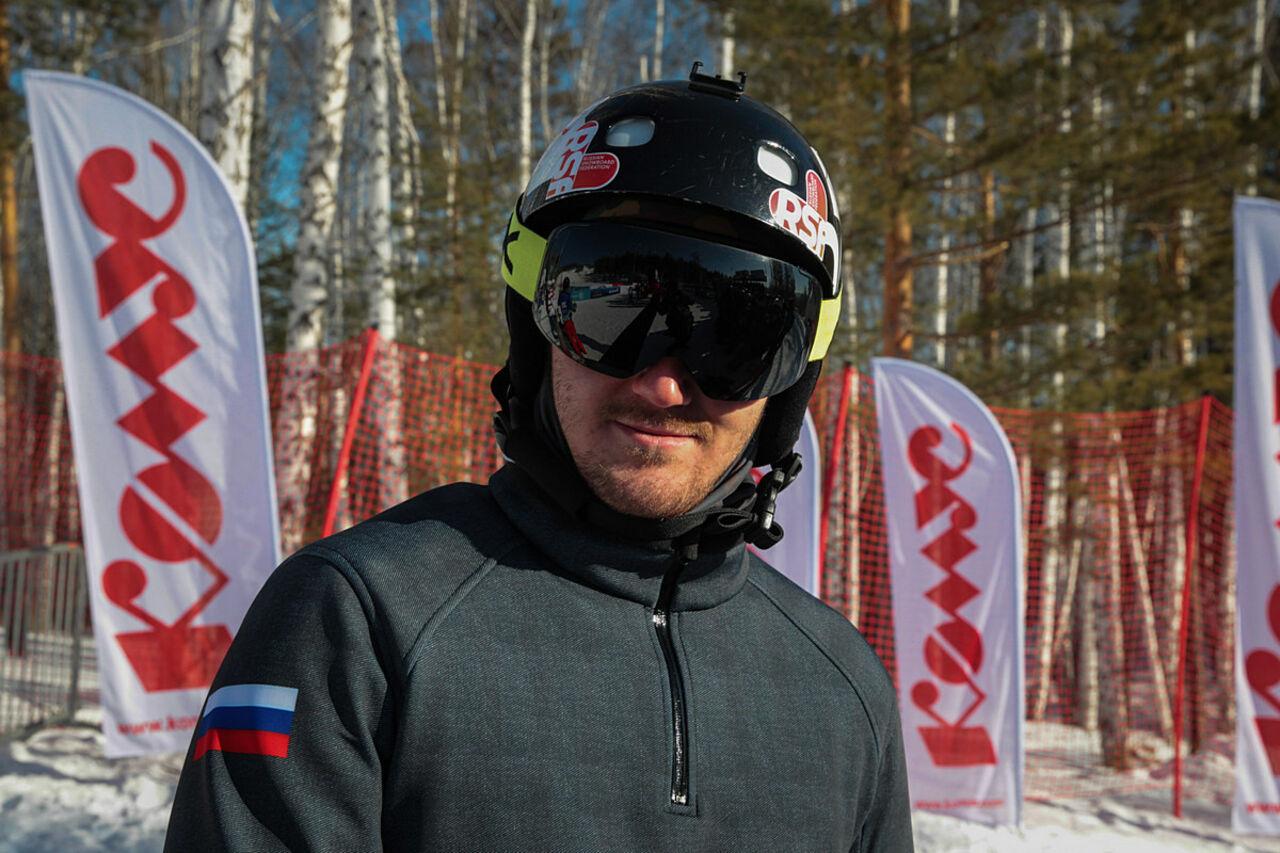Николай Олюнин несмог закончить полуфинальный заезд всноуборд-кроссе