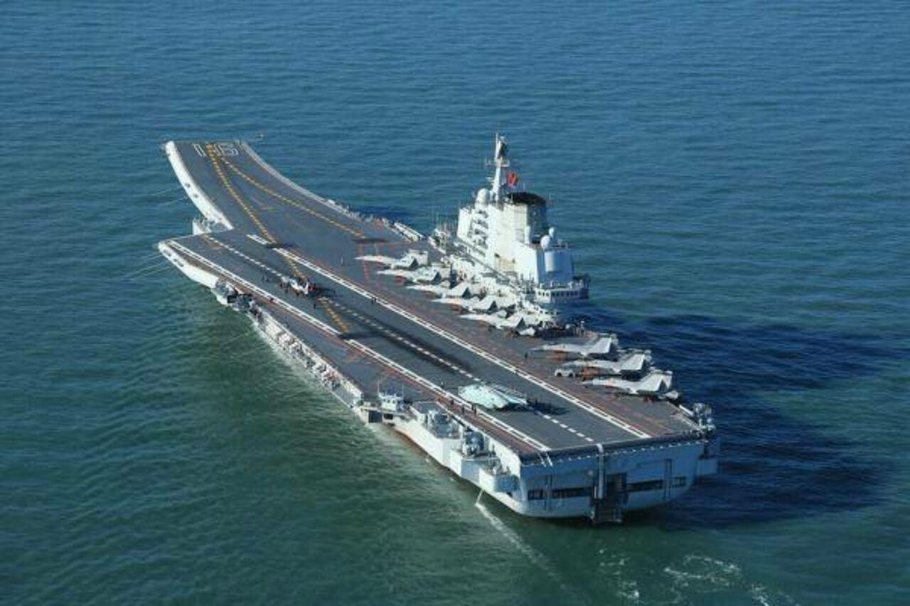 Китайцы раскритиковали купленный у государства Украины авианосец