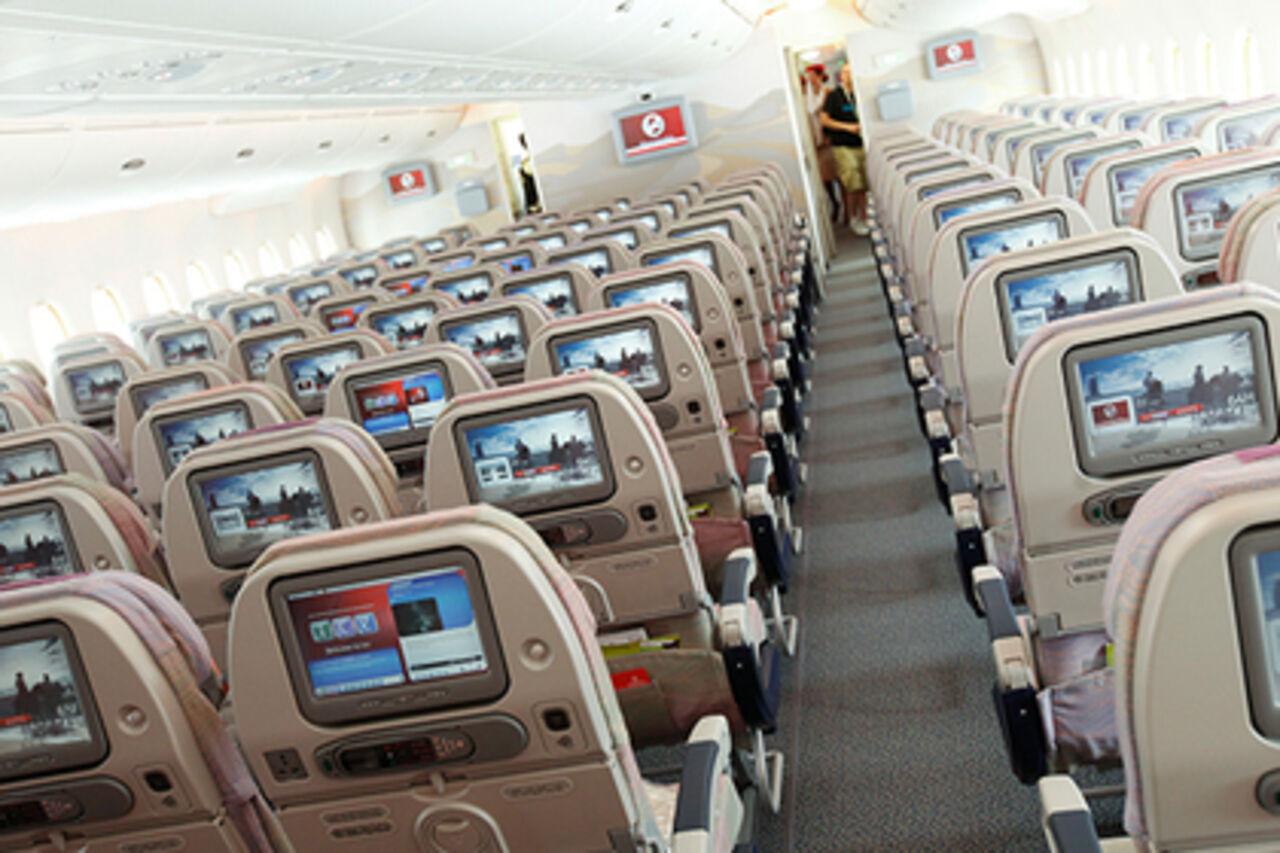Авиакомпания Emirates планирует на100%  убрать иллюминаторы в собственных  самолетах