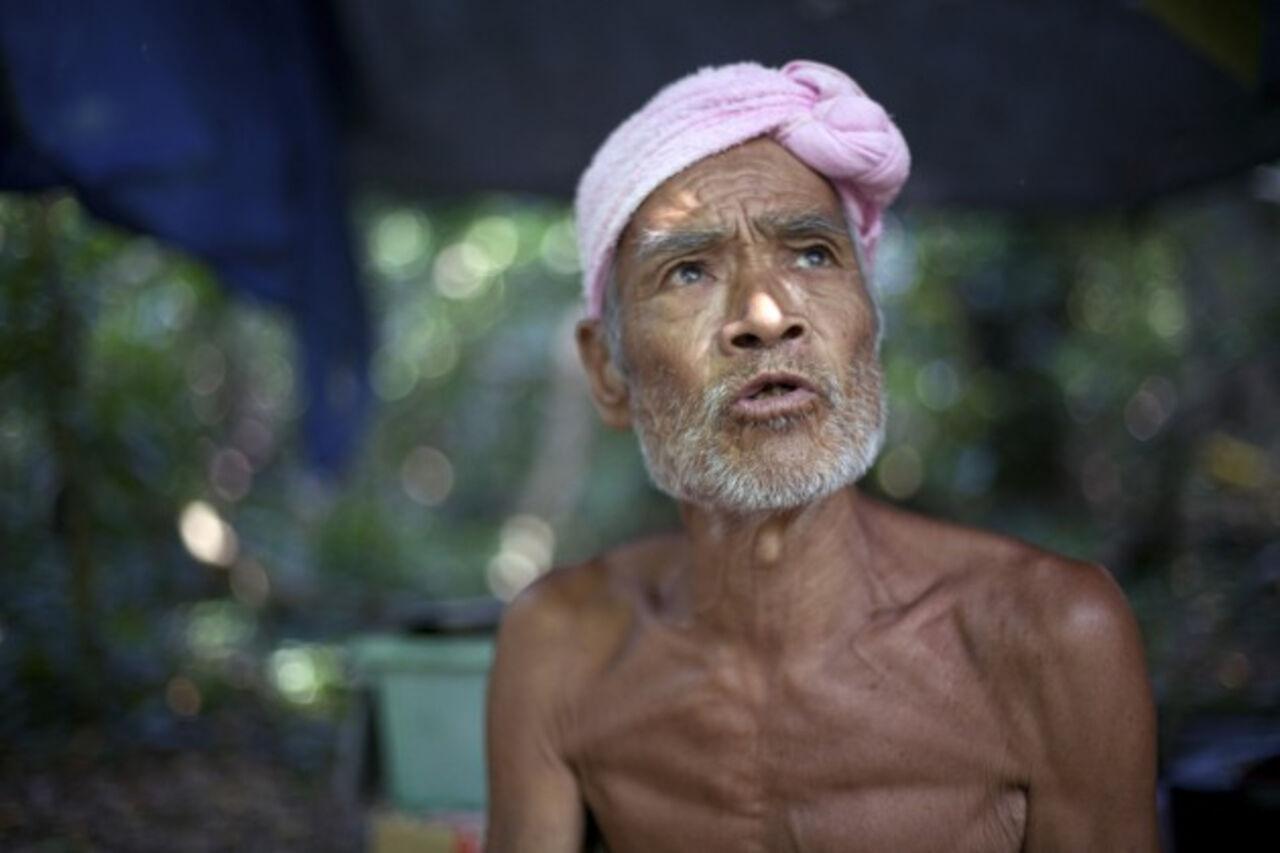 Отшельника, прожившего 30 лет нанеобитаемом острове, силой увезли вгород