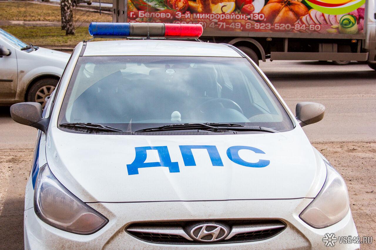 ВКемерово нетрезвый мужчина напал напатруль ДПС