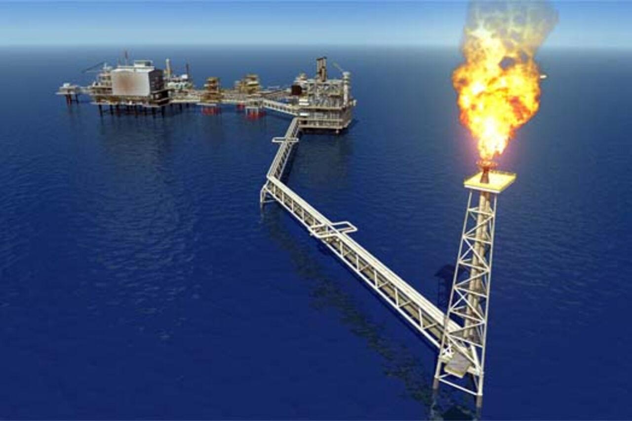 Газ с месторождения Умид начал поступать газотранспортную систему Азербайджана