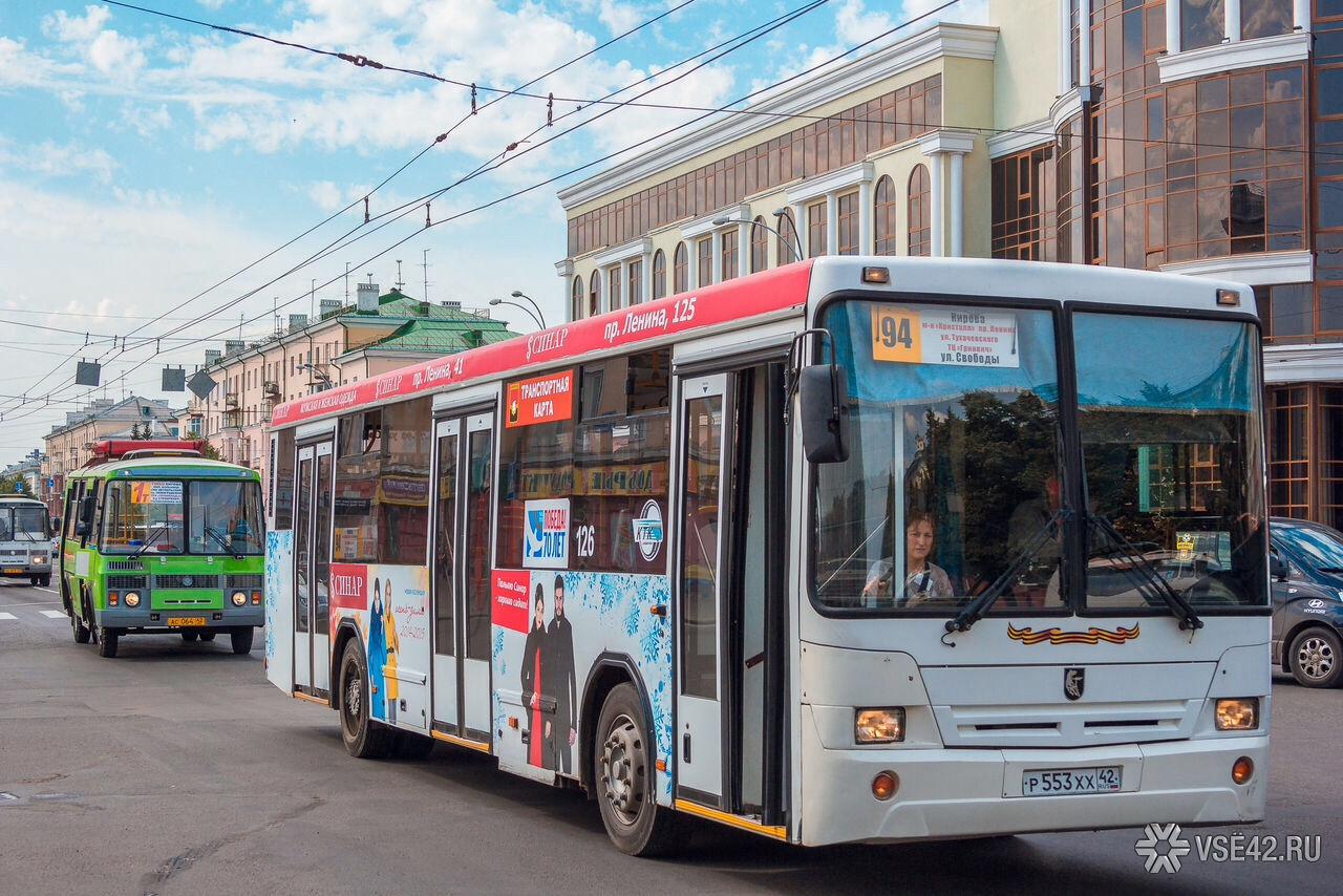 Кемеровский шофёр перевозил пассажиров внеисправном автобусе