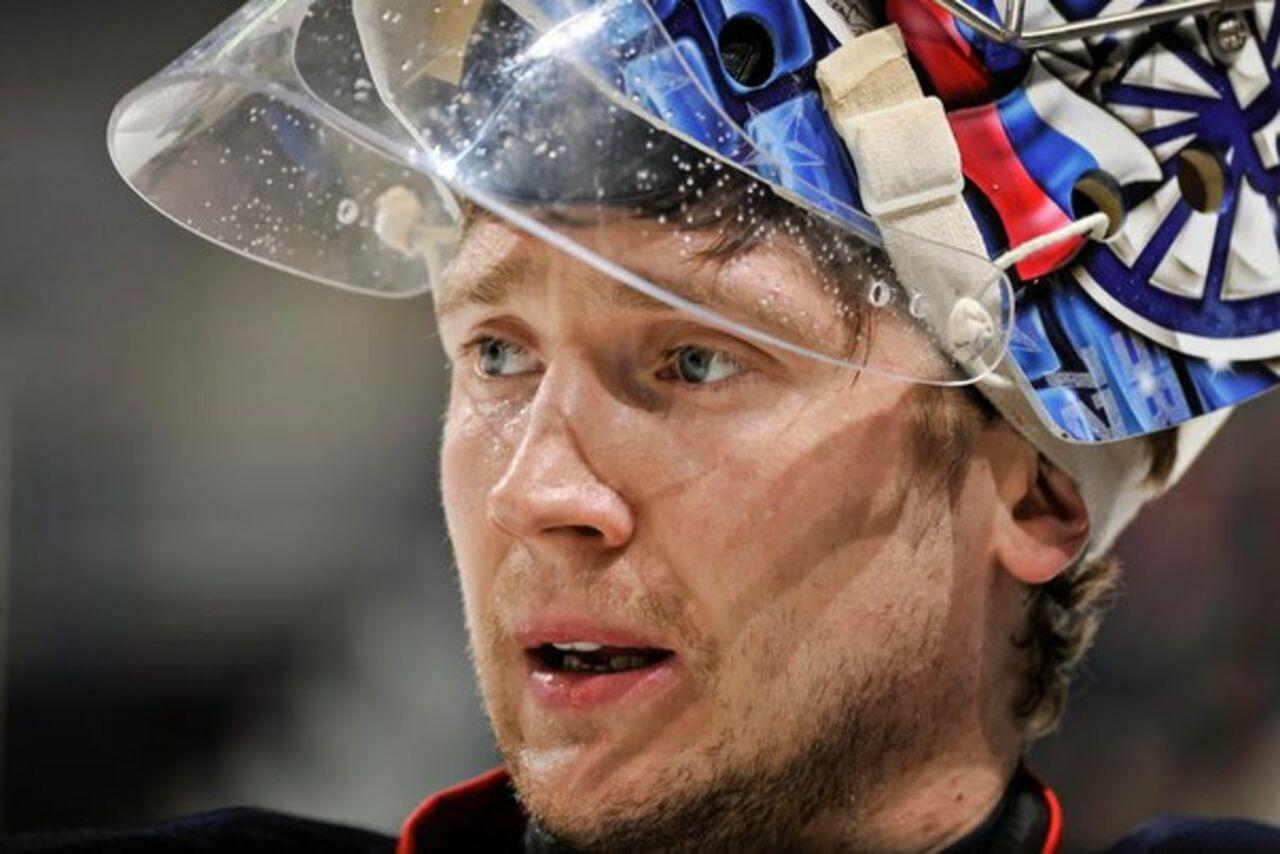Русский хоккеист Бобровский— претендент название самого ценного игрока сезона вНХЛ