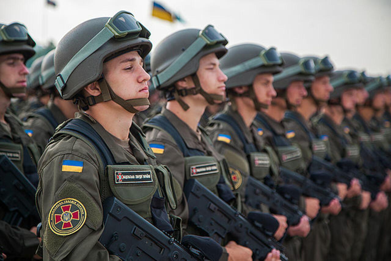 Национальная гвардия Украины создала особые роты для алкоголиков