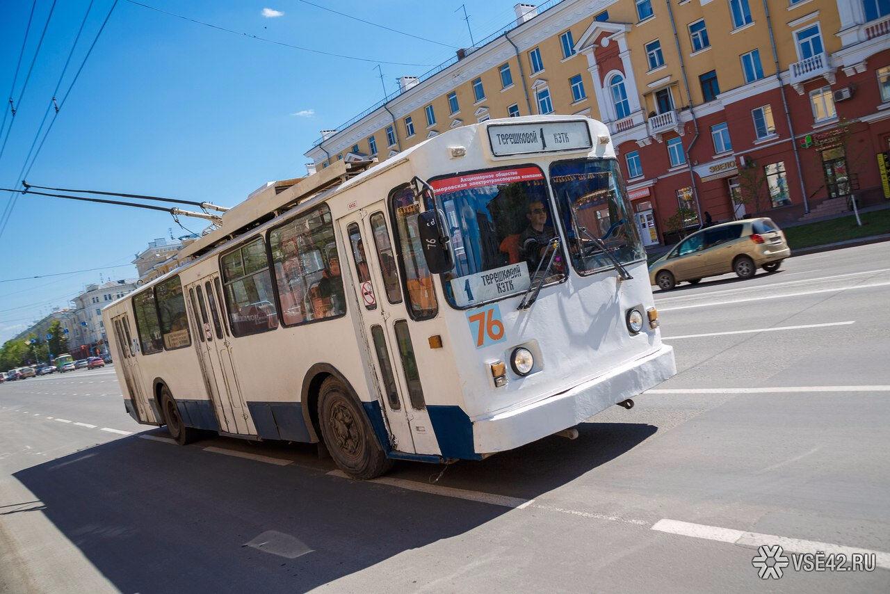 Водителя автобуса изКемерова оштрафовали заезду потрамвайным рельсам