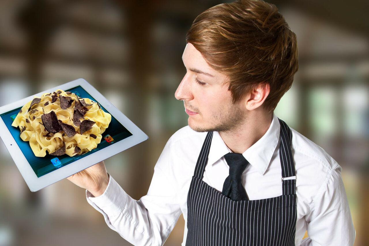 Водном изресторанов США вместо тарелок используются iPad