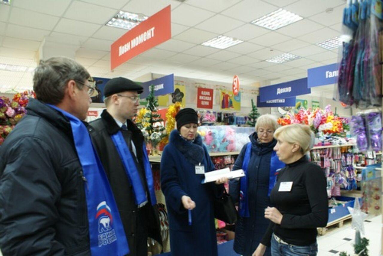 Кузбасские народные избранники выявили нарушения при хранении продуктов в известных магазинах Кемерова