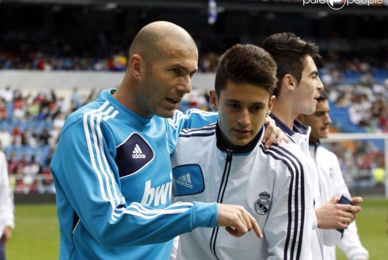 Вфинале Лиги Чемпионов за«Реал» сыграет Зидан