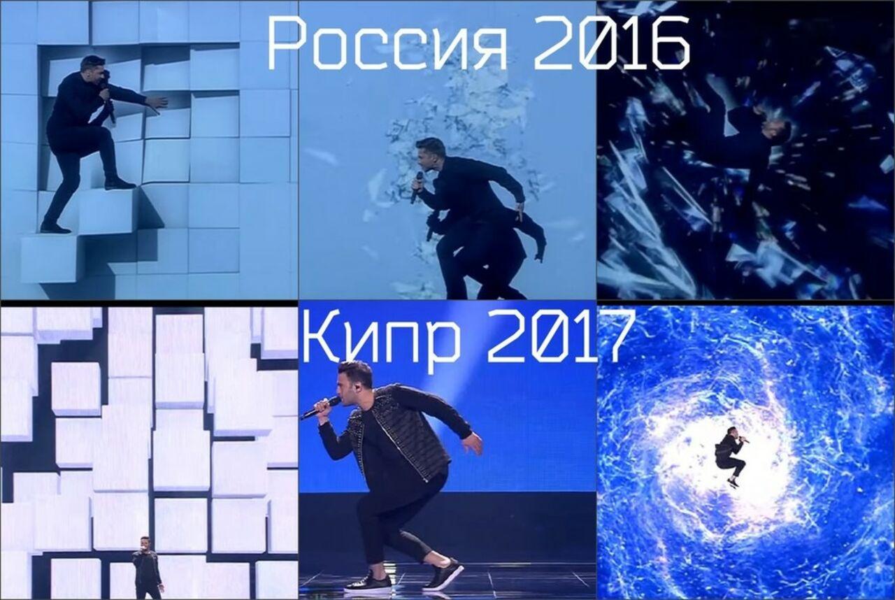 Плагиат на«Евровидении 2017»: участники шоу массово копируют номера Сергея Лазарева