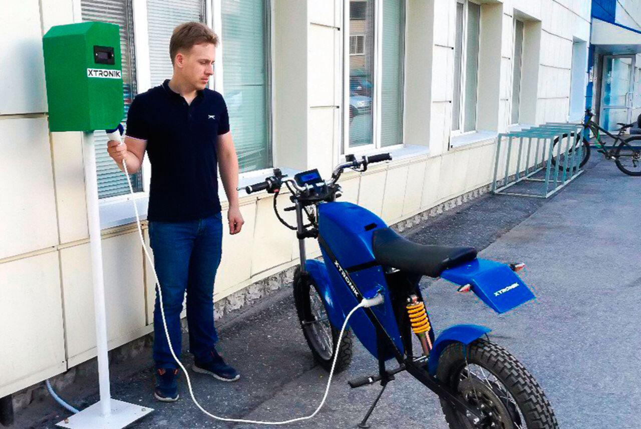 ВТомске установили первую заправку для электротранспорта