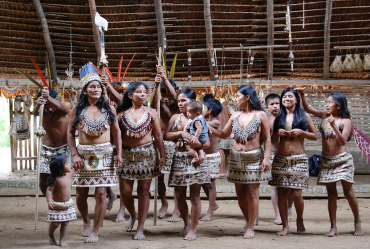 Фото праздник у индейцев 2
