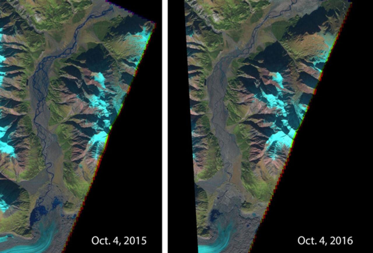 Ученые узнали причины исчезновения реки Слимс вКанаде