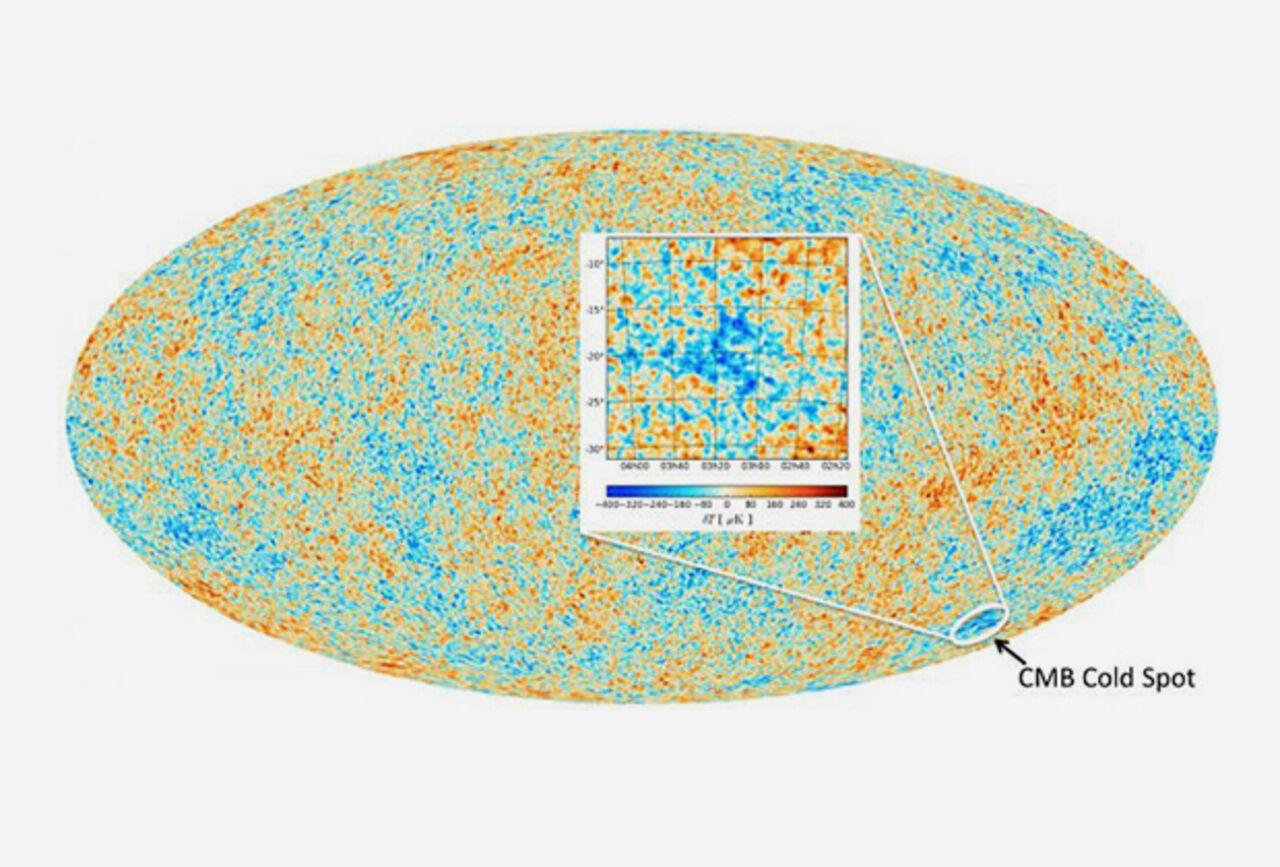 Ученые отыскали  следы столкновения 2-х  вселенных