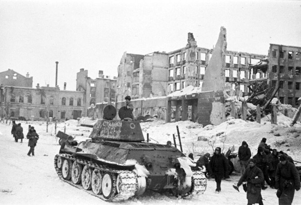 МинобороныРФ опубликовало уникальные документы оСталинградской борьбе