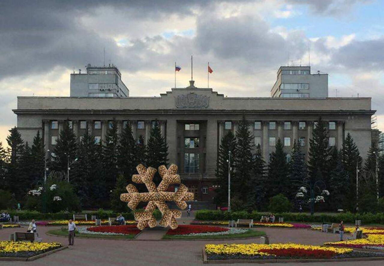 Вцентре Красноярска появится снежинка изкартофеля
