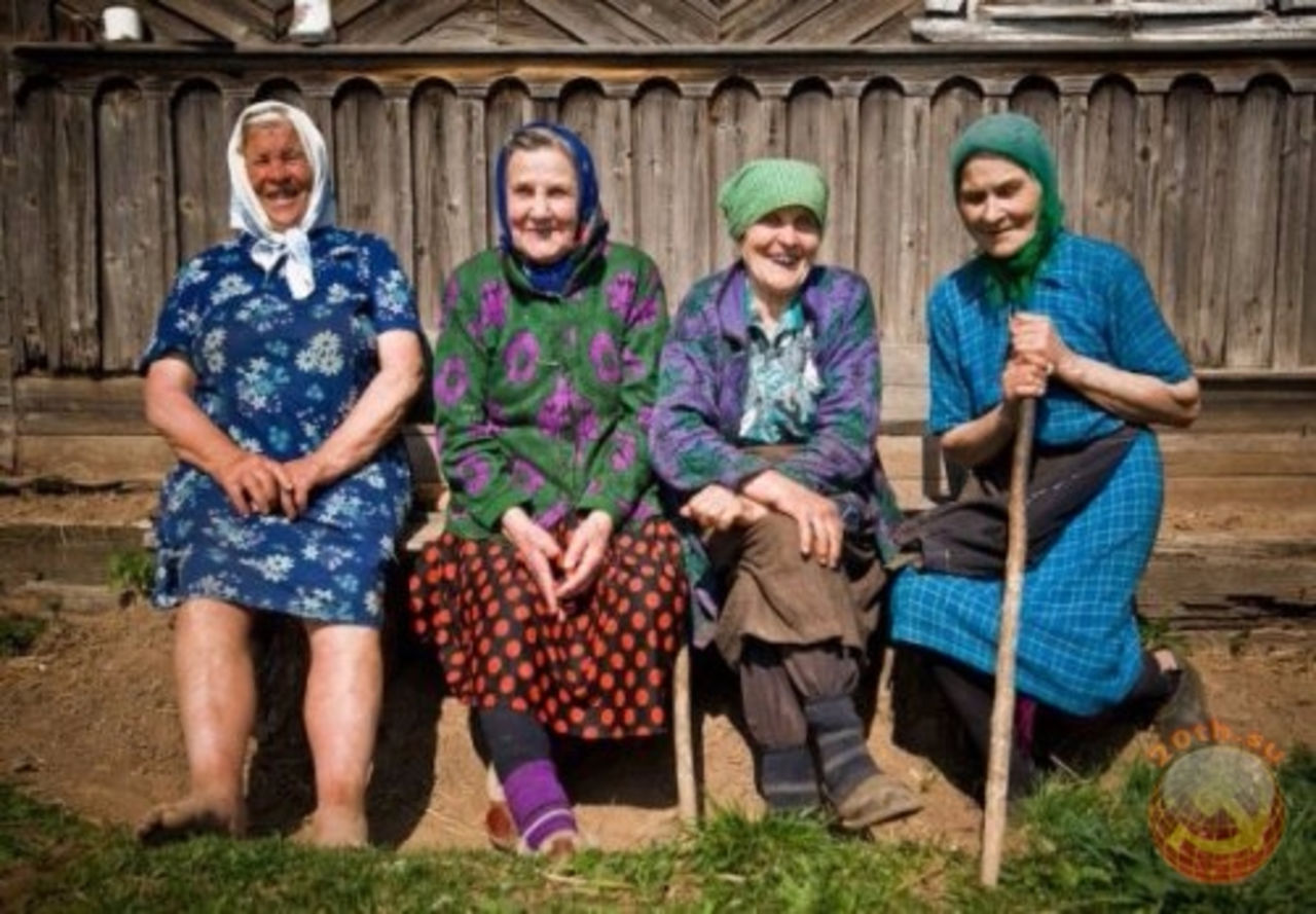 Старые бабки дают 3 фотография