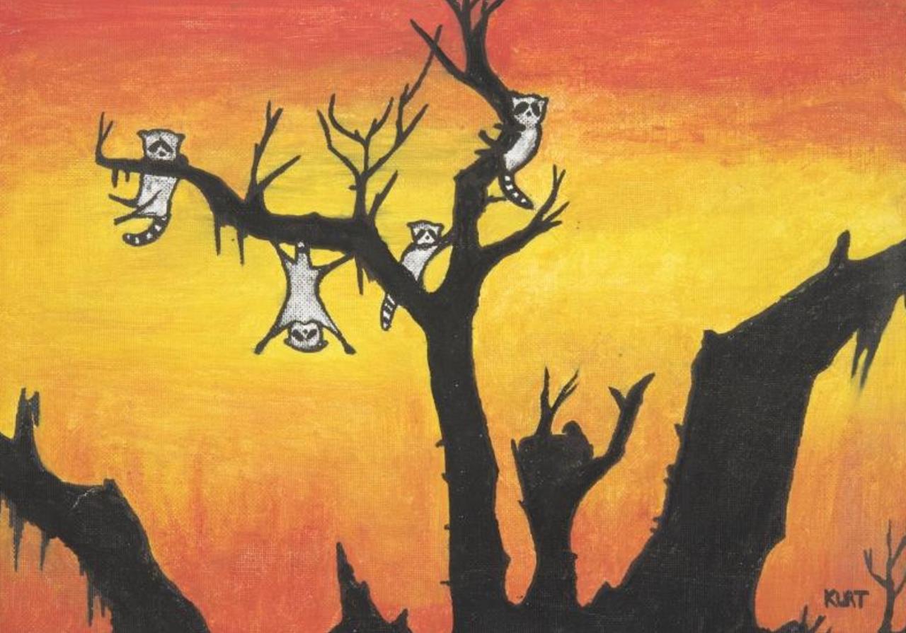 ВСША продали рисунки Курта Кобейна иДжона Леннона