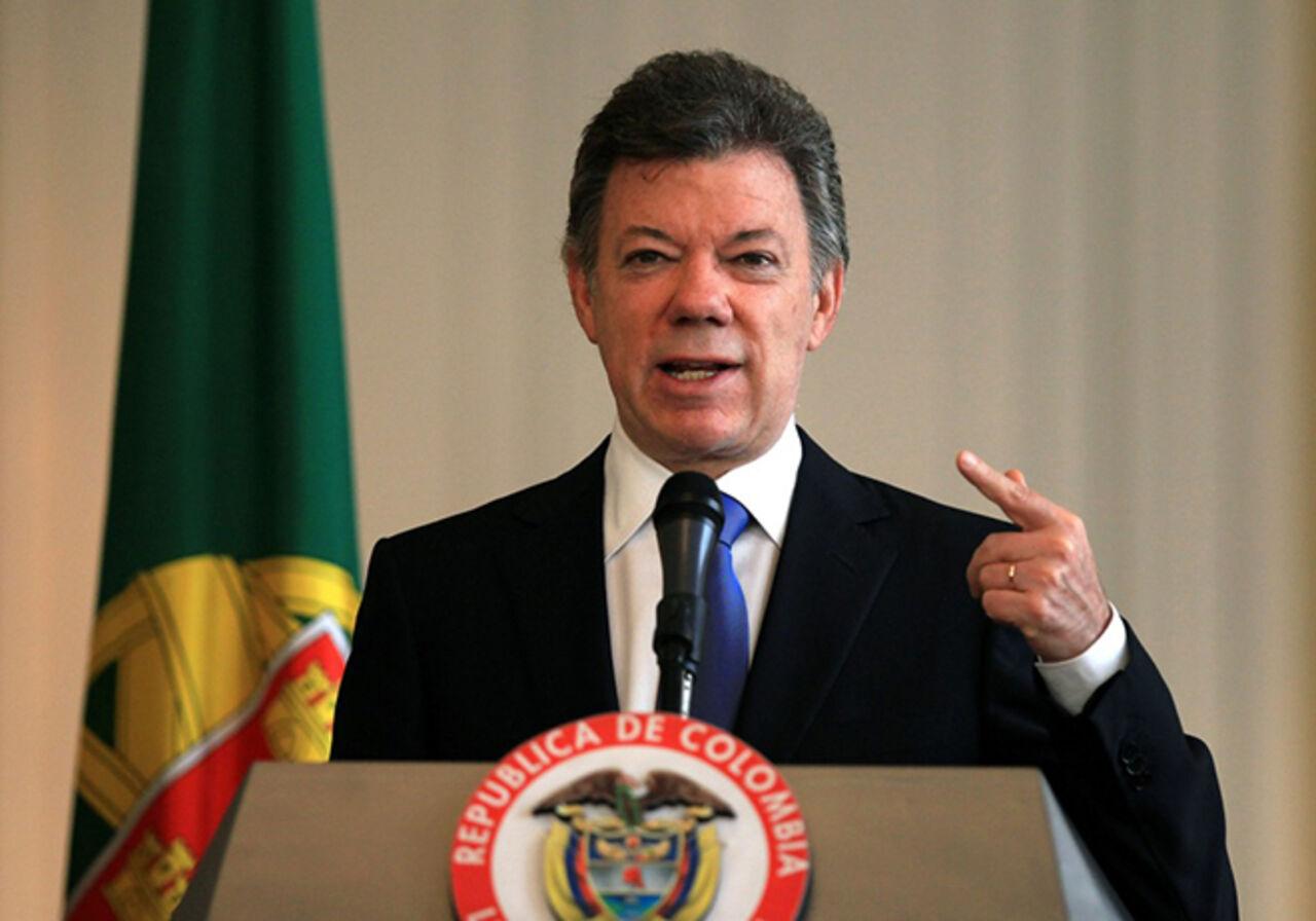 Нобелевскую премию мира получил президент Колумбии замирный договор сповстанцами