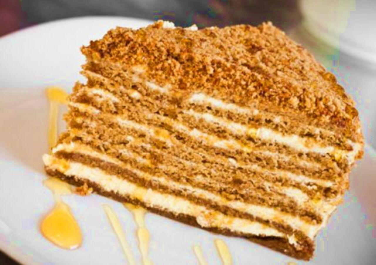 Рецепт медового торта пошаговое фото