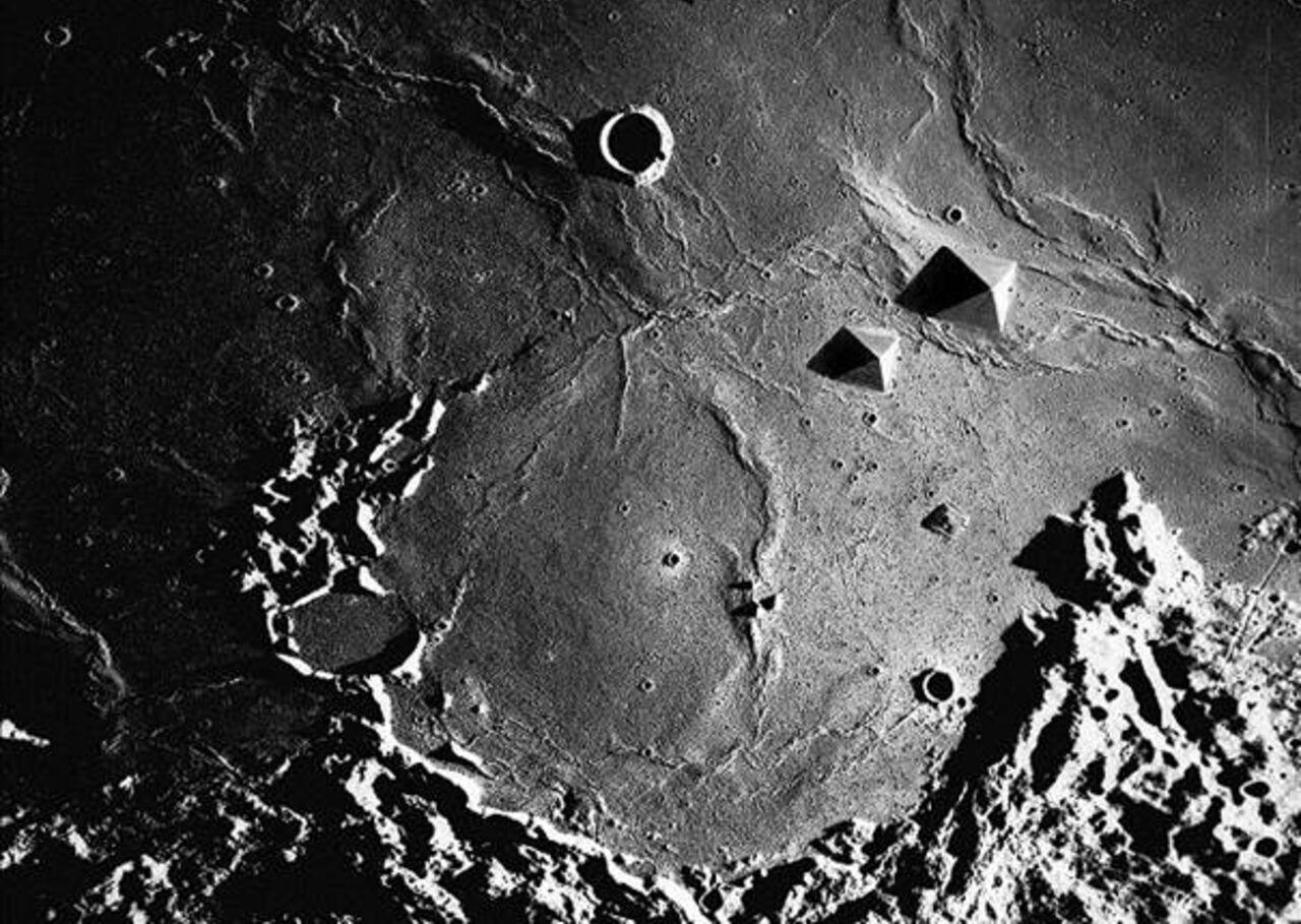 Уральский исследователь обнаружил город инопланетян на Луне