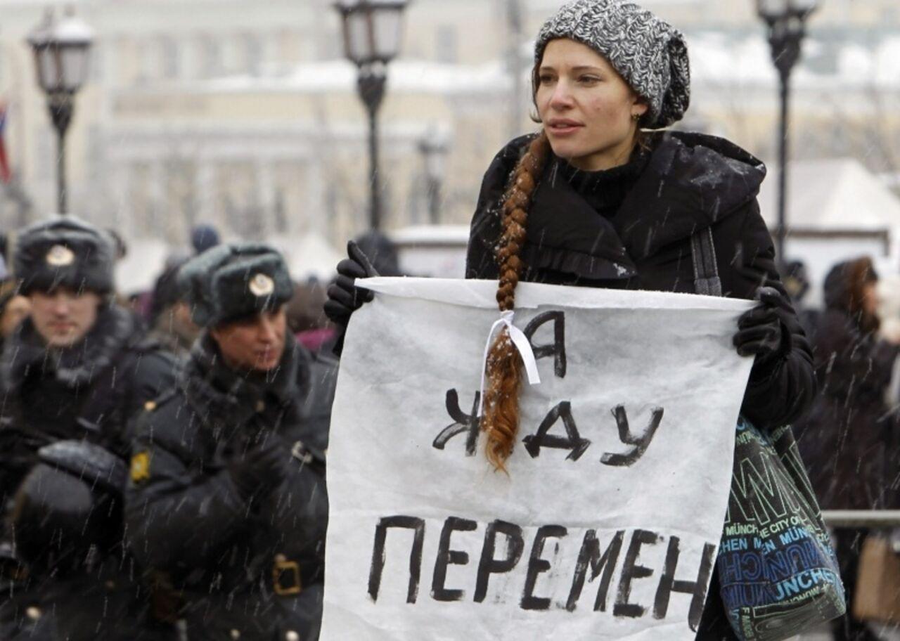 Опрос: почти две трети русских граждан неподдерживают участие молодежи вмитингах