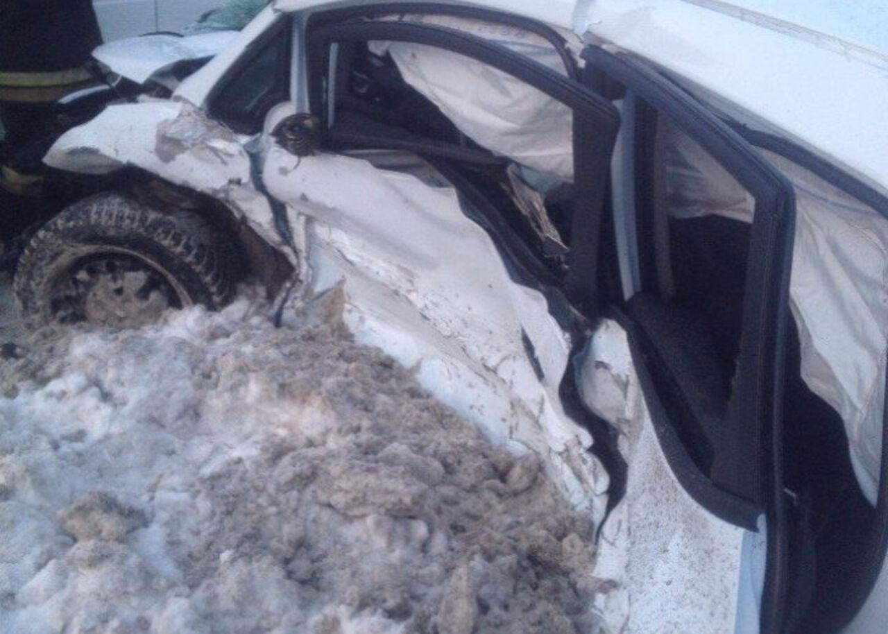 Водитель  умер  вДТП наЗмеиногорском тракте вБарнауле