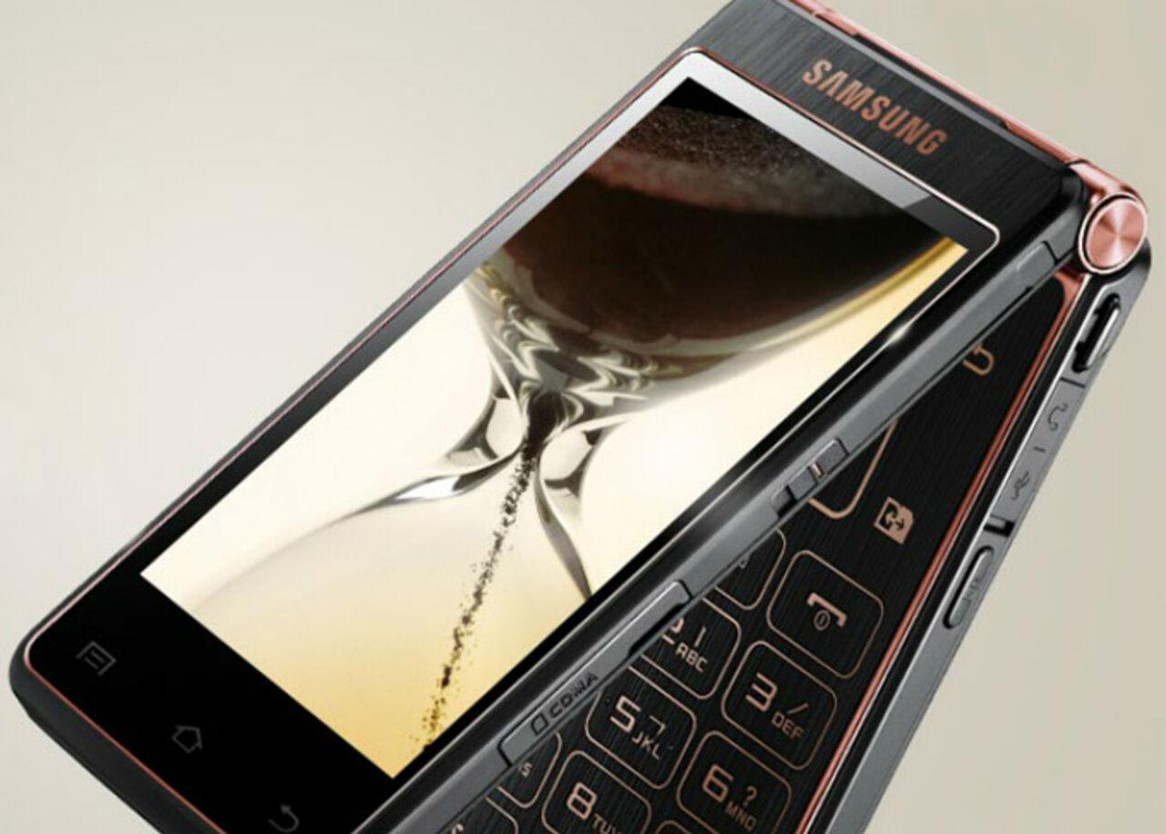 На текущей неделе Самсунг представит смартфон-раскладушку