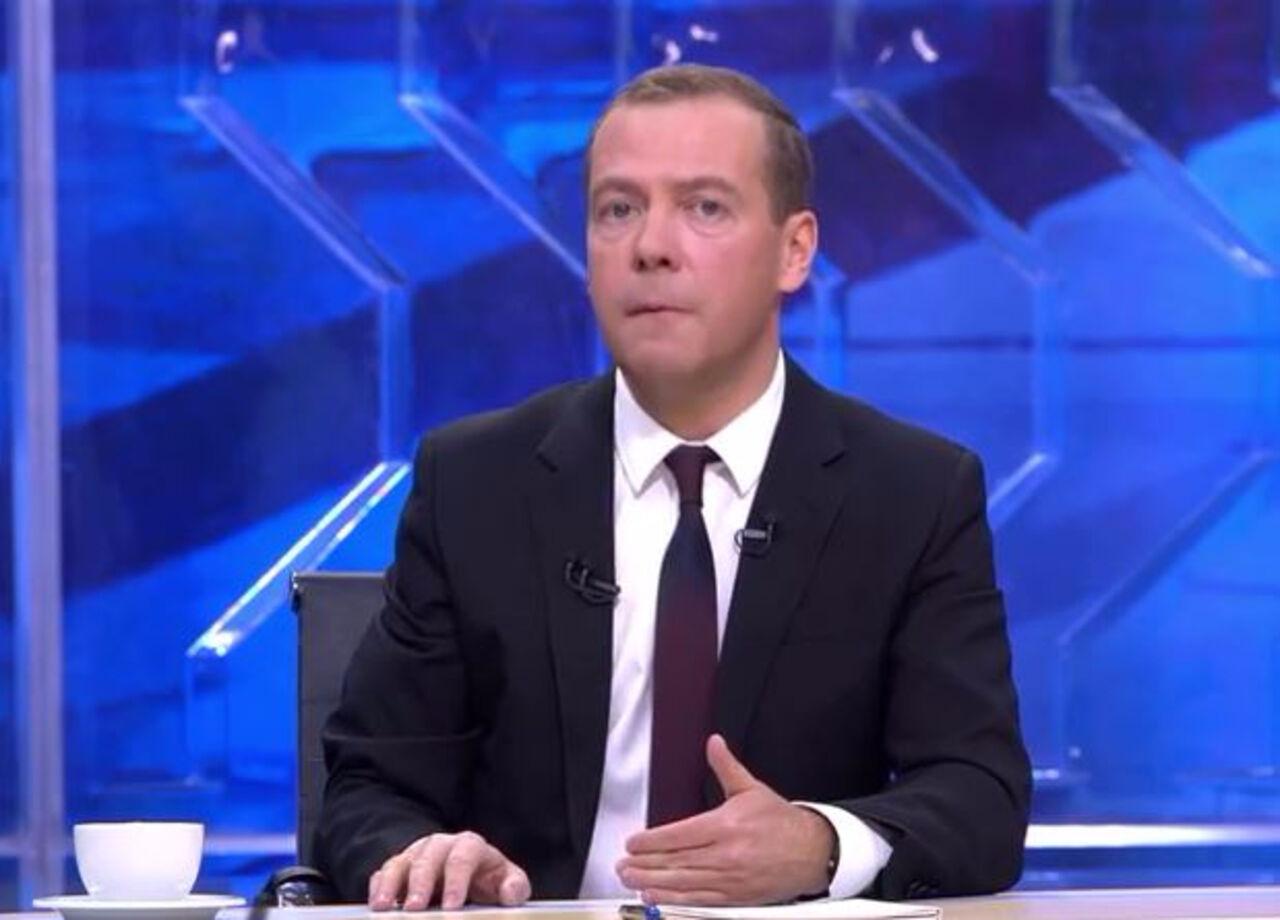 Д. Медведев назвал «геноцидом» энергоблокаду Крыма