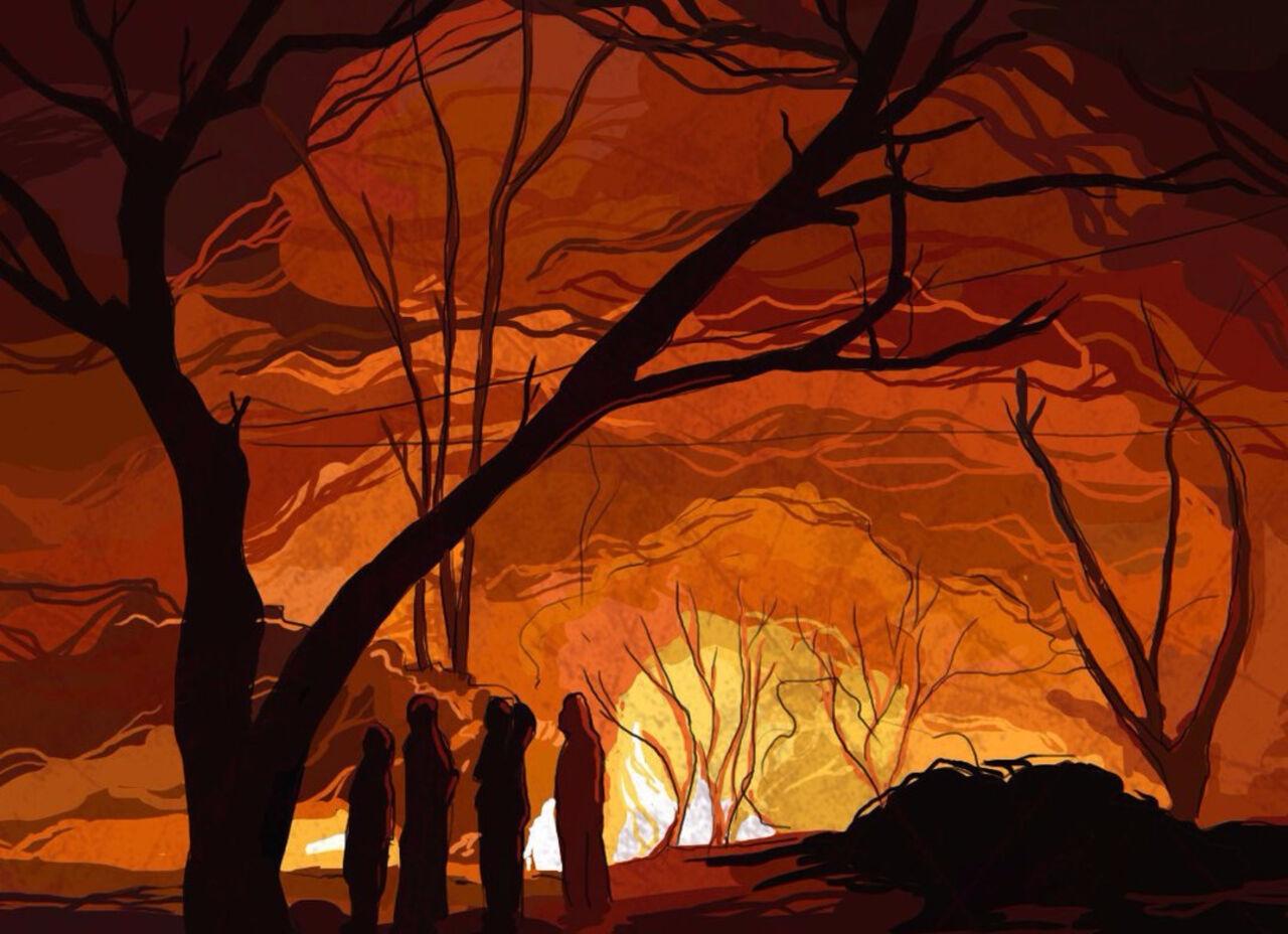 Напожаре вНовокузнецком районе умер пенсионер