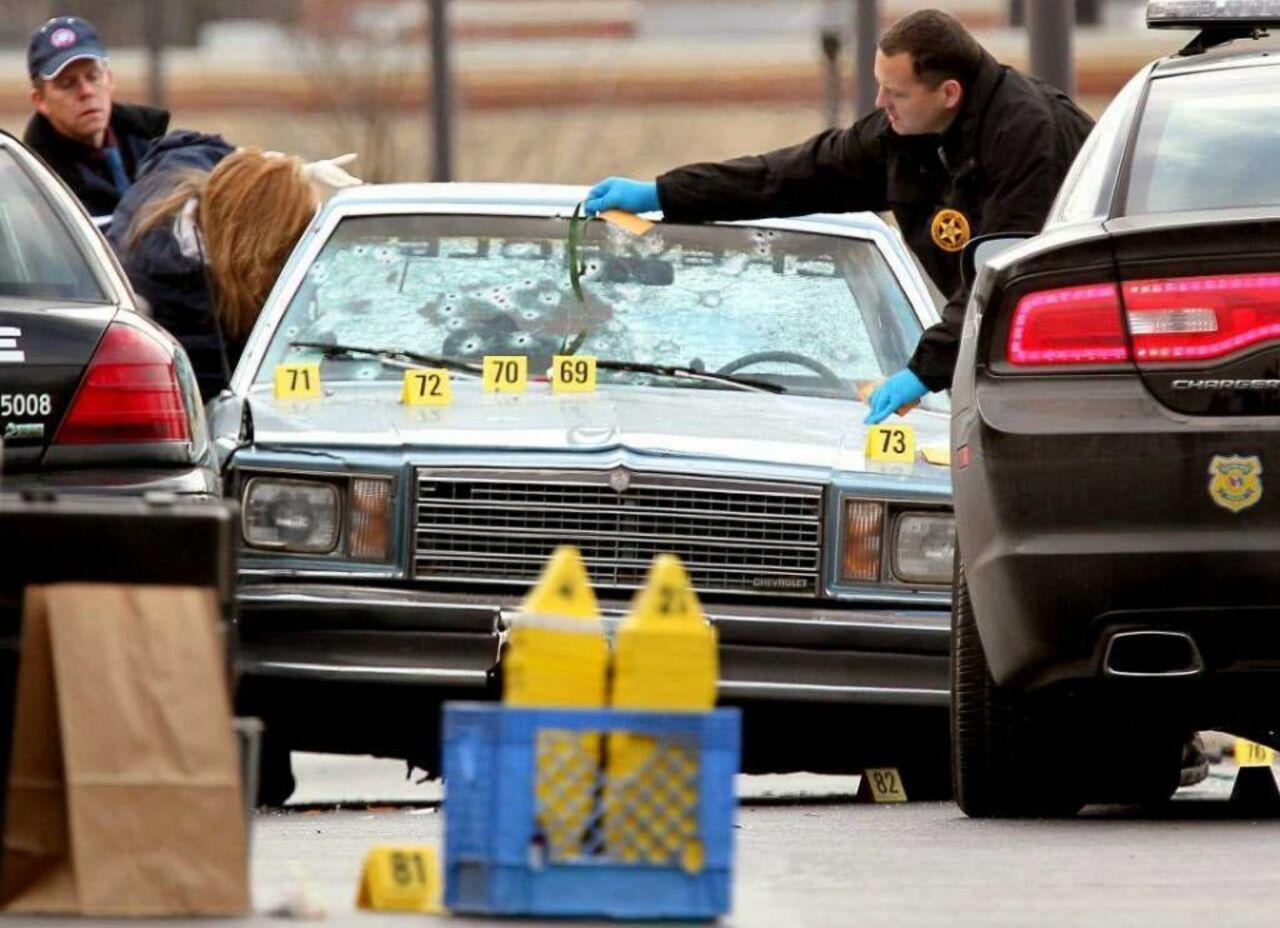 При стрельбе вКливленде ранено 4 человека