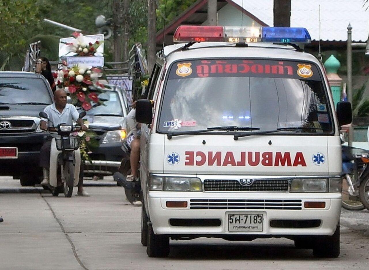 Жители РФ пострадали вДТП савтобусом вТаиланде