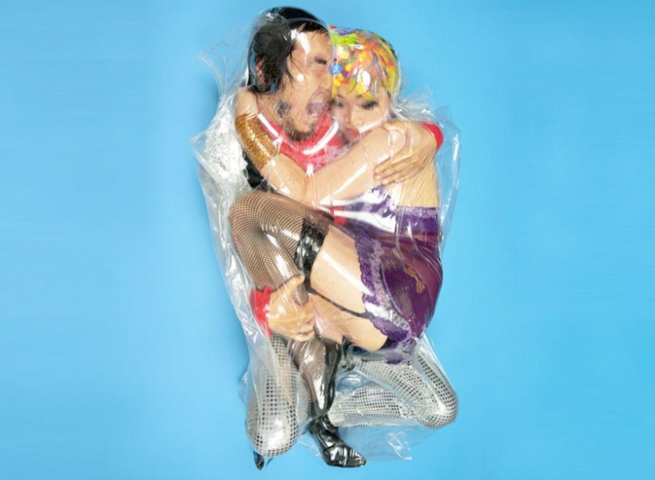 Секс японки целофан онлайн 16 фотография