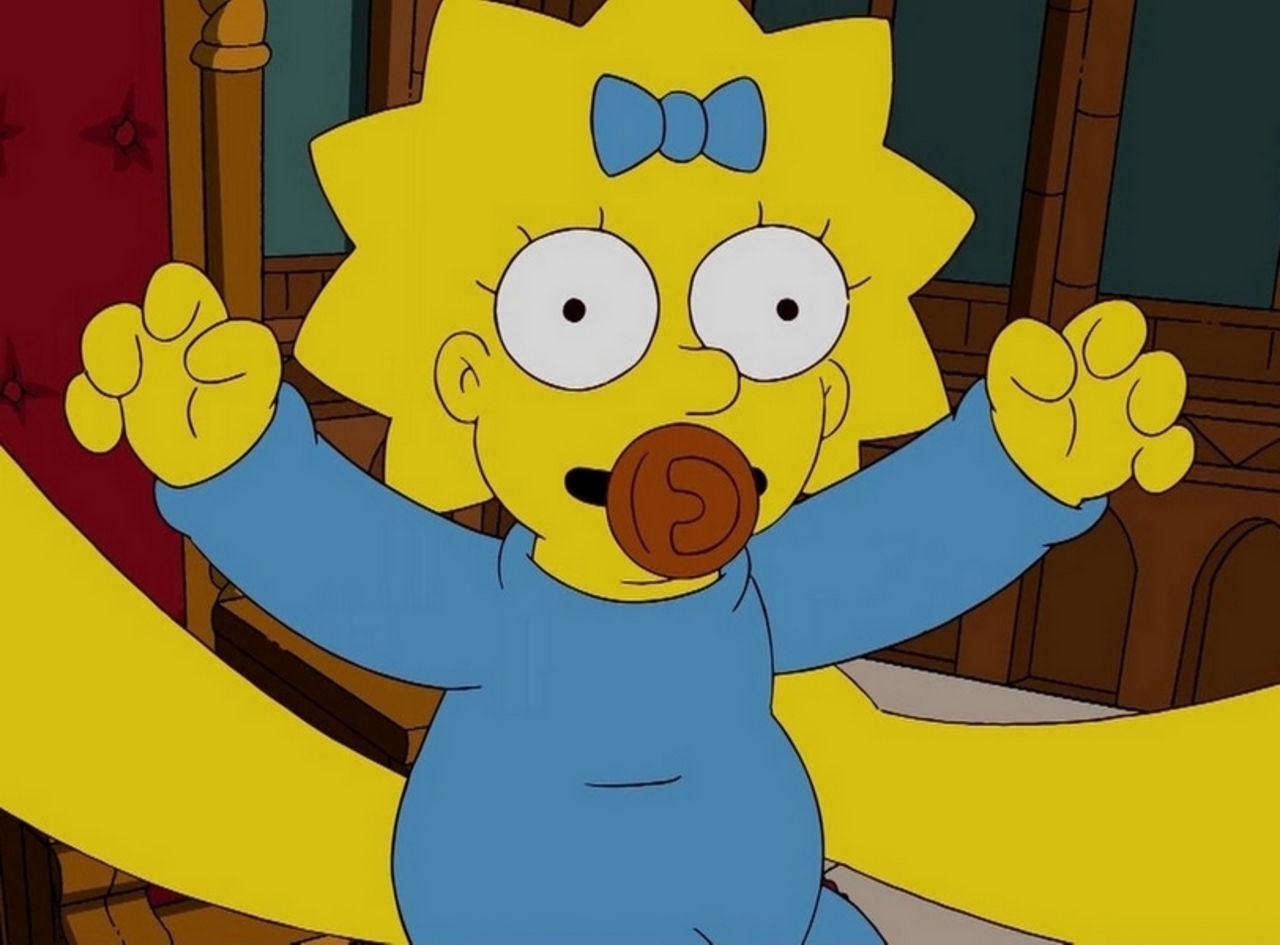 «Магия». Авторы «Симпсонов» пояснили, почему малышка Мэгги невзрослеет