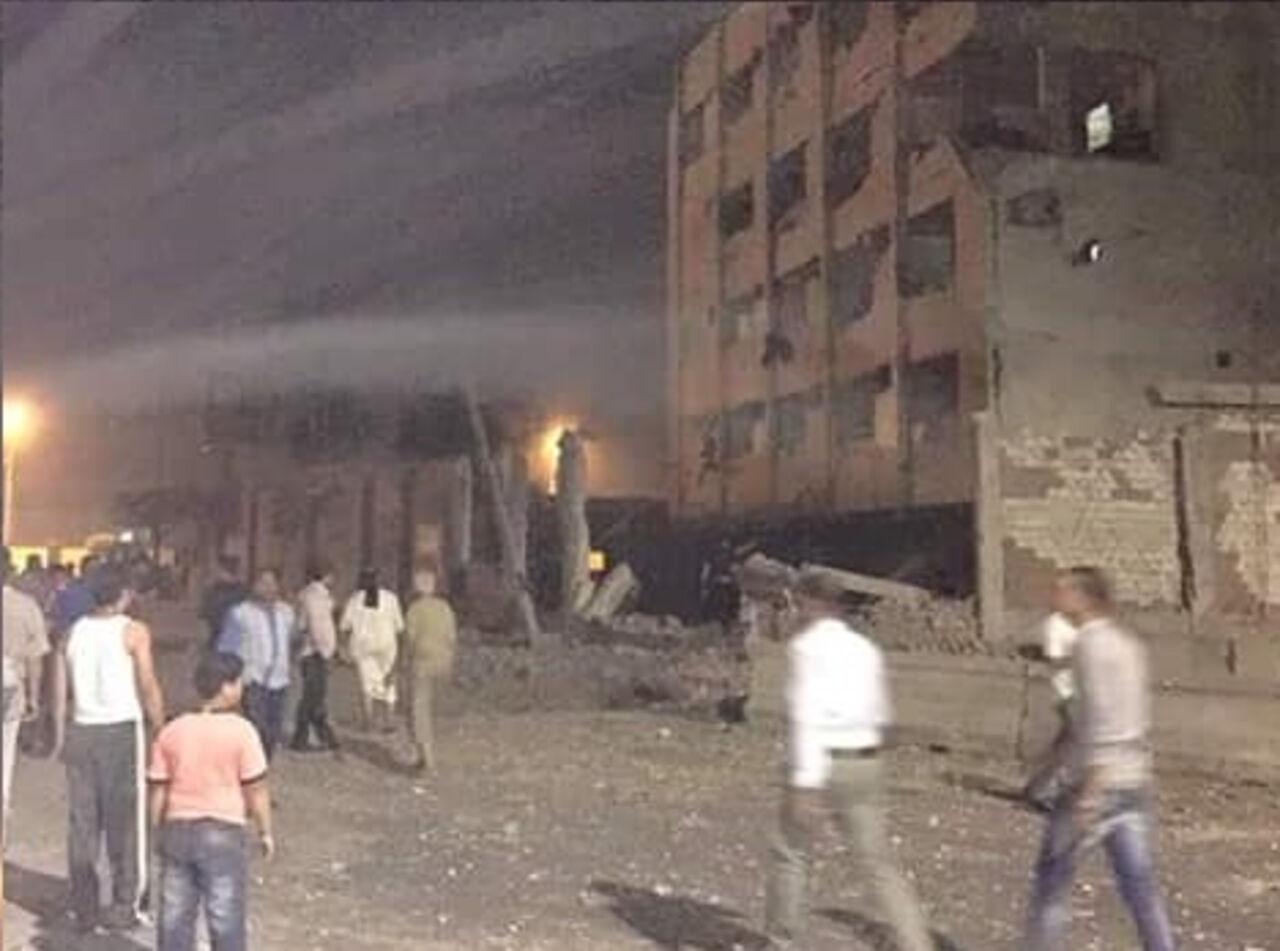 Мощный взрыв прогремел в Каире
