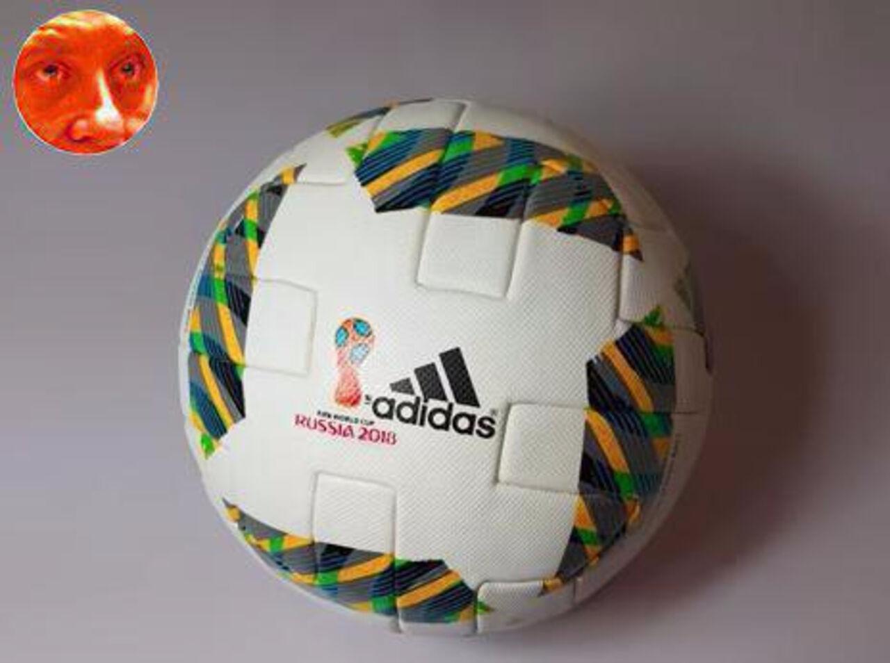 Винтернет попало изображение официального мячаЧМ