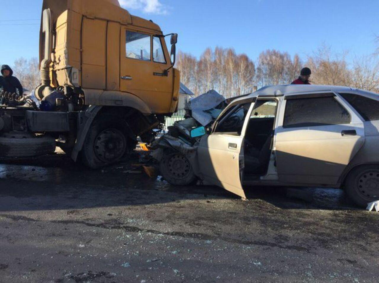 Виновный вДТП с5 погибшими шофёр КамАЗа отправился вколонию