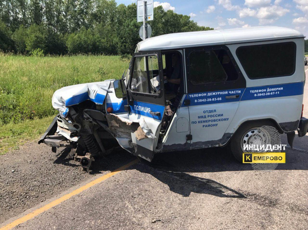 Гражданин Кемеровского района ответит всуде засерьезную трагедию сполицейским автомобилем