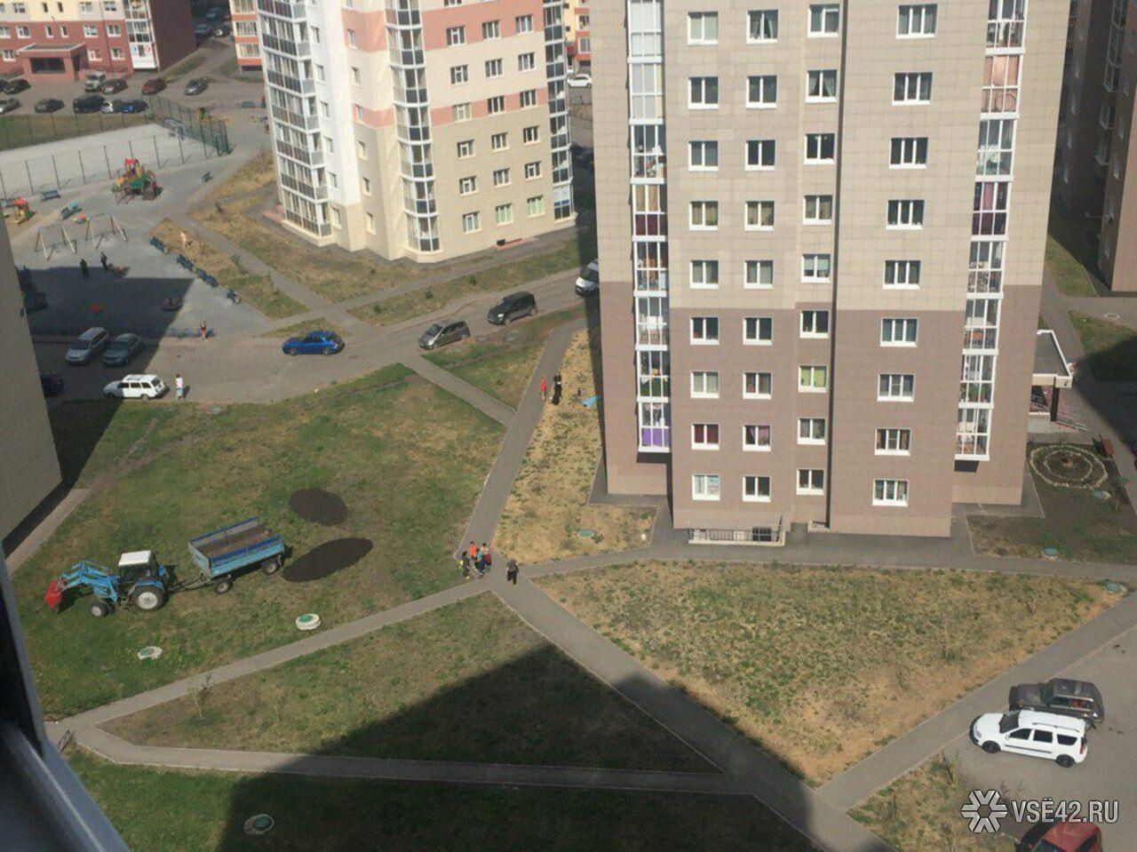 ВКемерове с11 этажа выбросилась молодая мать