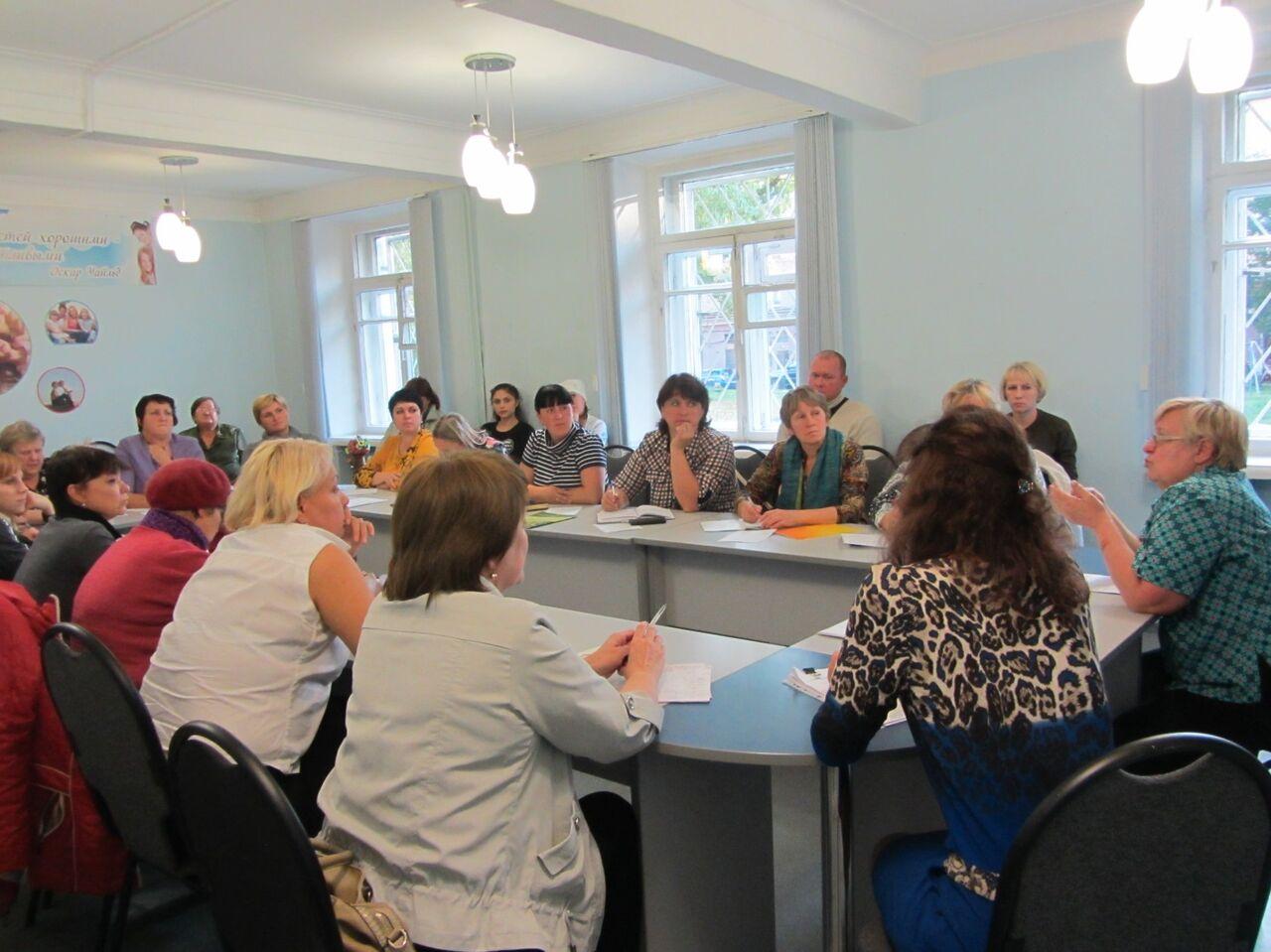 Учебный год вшколе приёмных родителей начался вКемерове