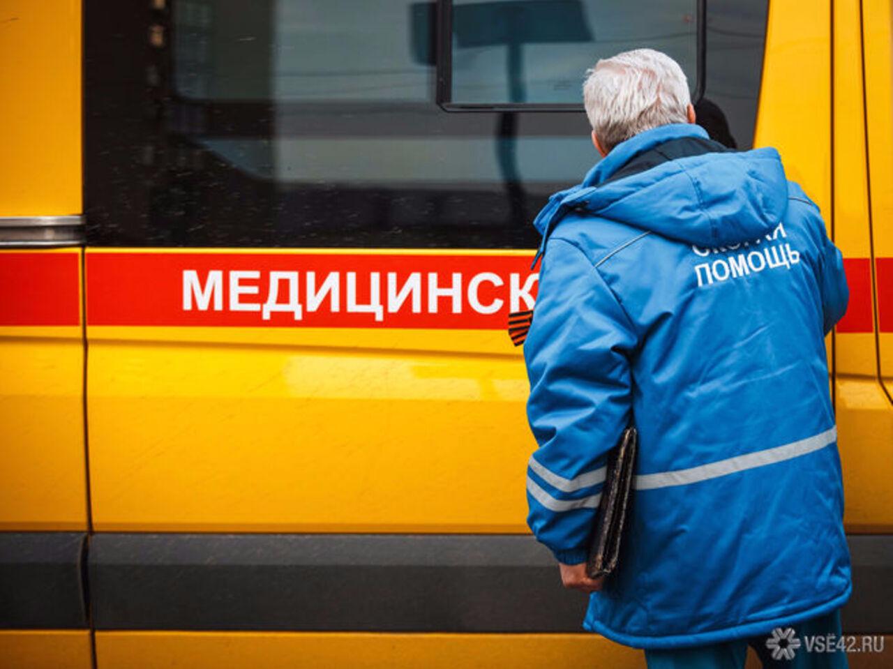 Мужчина изКиселевска упал с9 этажа иостался живой